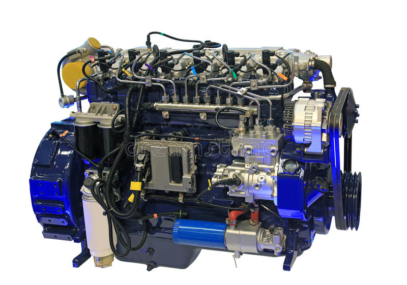 dieselmotor arkivfoto