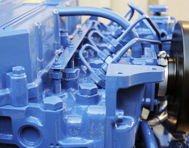 Dieselmotor lizenzfreie stockfotos