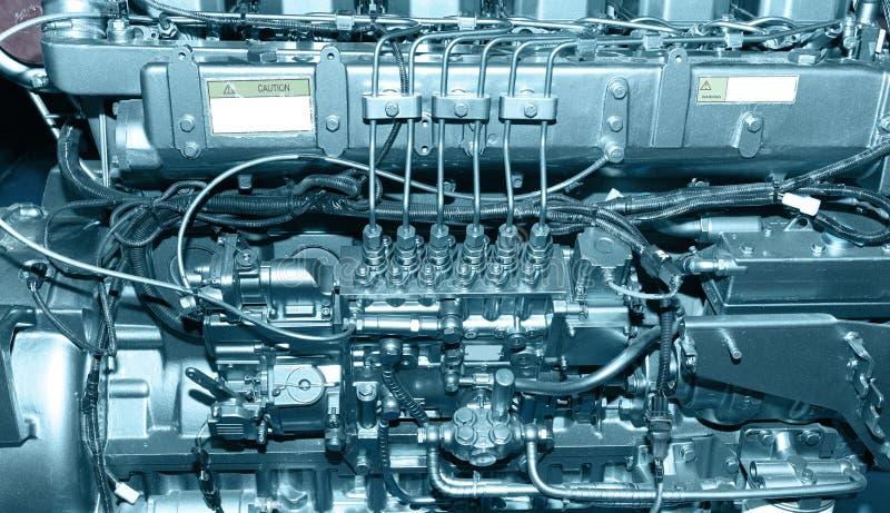 dieselmotor royaltyfria bilder
