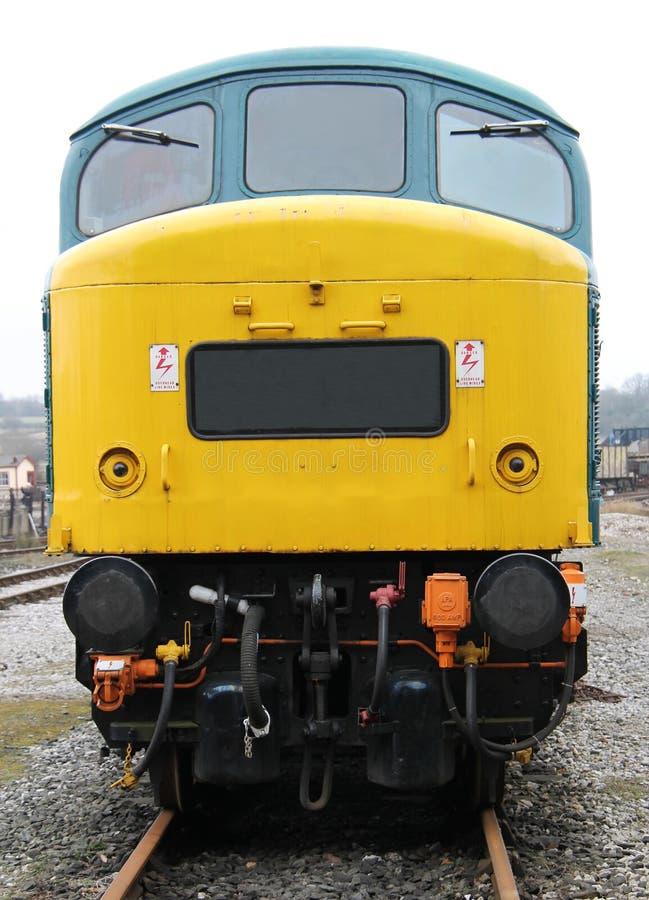 Dieselmotordrev royaltyfri bild