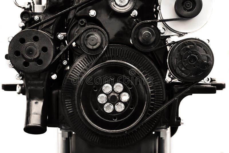Dieselmotortransmissie royalty-vrije stock foto's