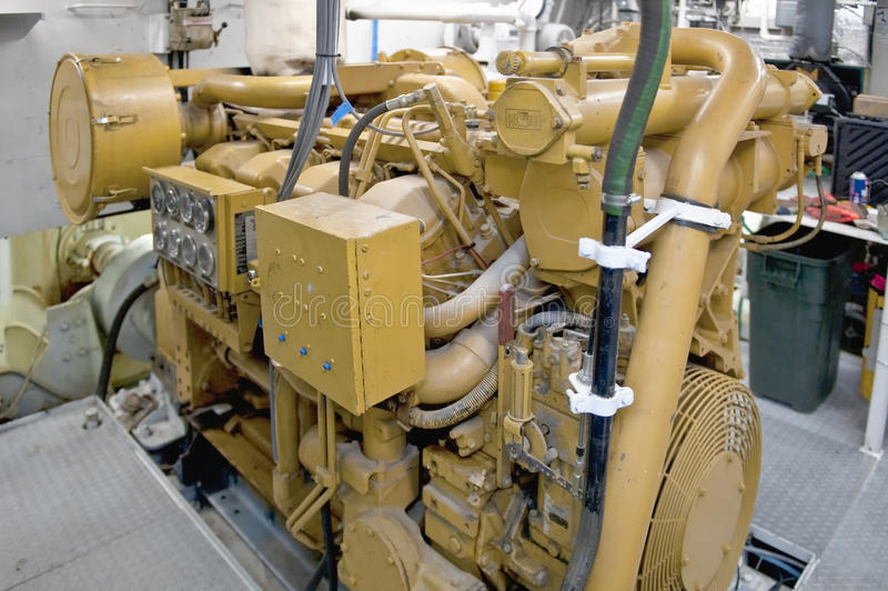 dieselmotoryacht arkivbilder