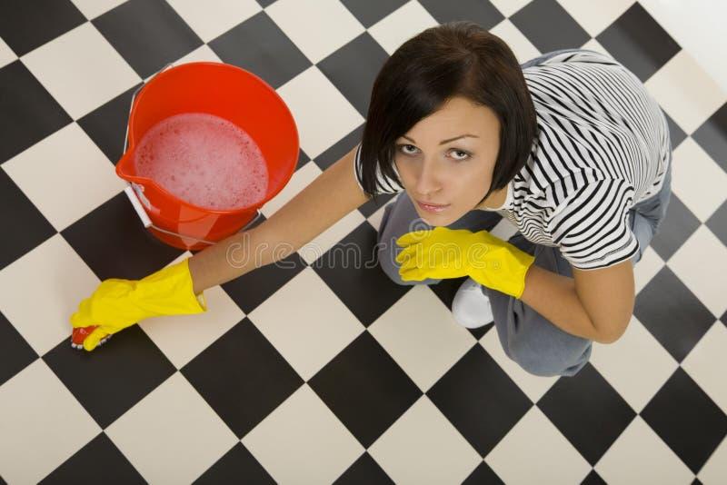 Dieser Fußboden ist sehr schmutzig lizenzfreies stockfoto