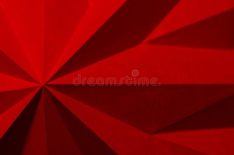 Dieses Bild ist ein Abschluss oben des gefalteten Papiers stockfotografie