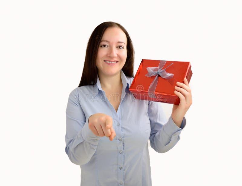Dieses Geschenk ist für Sie lizenzfreie stockbilder