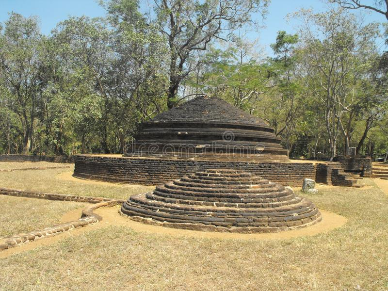 DIESES IST BILD-SCHÖNE KÖNIGE PALACE OF SRI LANKA stockbild