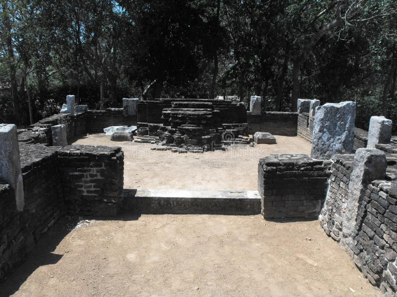 DIESES IST BILD-SCHÖNE KÖNIGE PALACE OF SRI LANKA lizenzfreies stockfoto