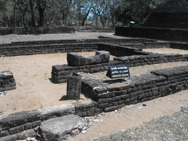 DIESES IST BILD-SCHÖNE KÖNIGE PALACE OF SRI LANKA lizenzfreies stockbild