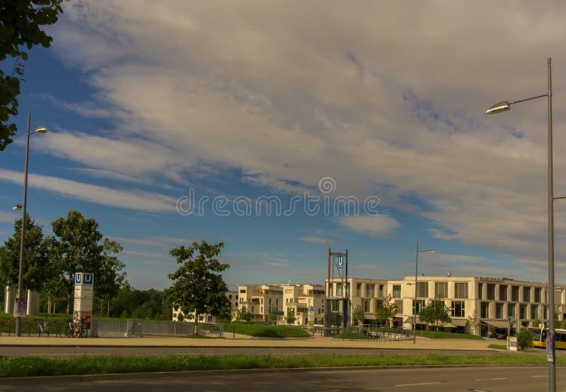 Dieses ist das Killesberghoehe vor Hoehenpark lizenzfreies stockfoto