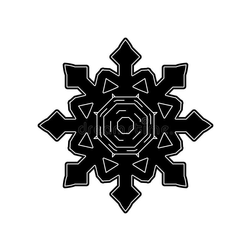Dieses ist Datei des Formats EPS10 Element des Winters f?r bewegliches Konzept und Netz Appsikone Glyph, flache Ikone f?r Website lizenzfreie abbildung