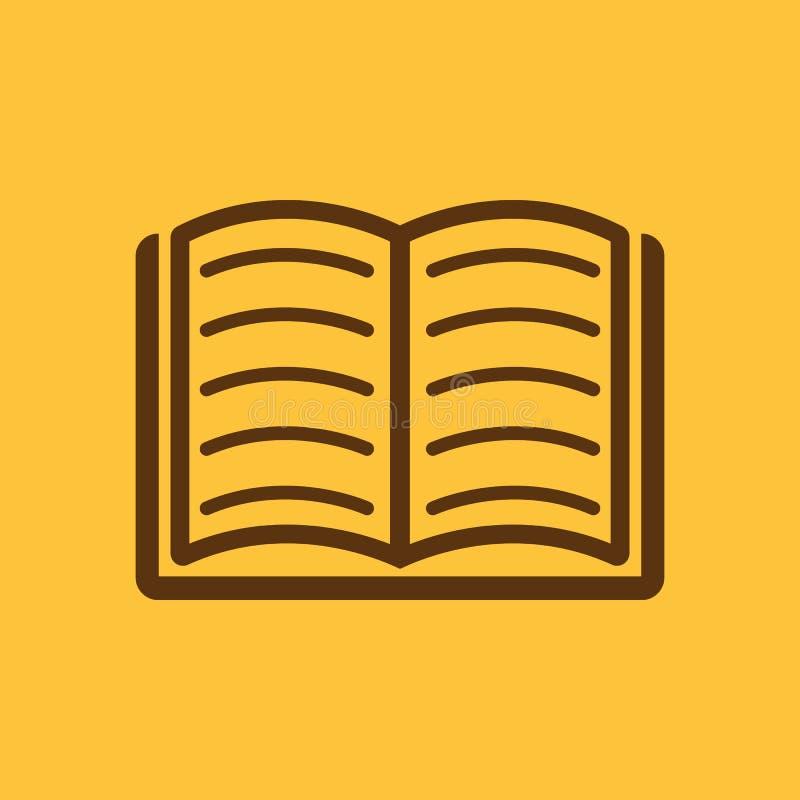 Dieses ist Datei des Formats EPS10 ENV 10 Bibliothek, Buchsymbol web graphik jpg ai app zeichen nachricht flach bild zeichen ENV  vektor abbildung