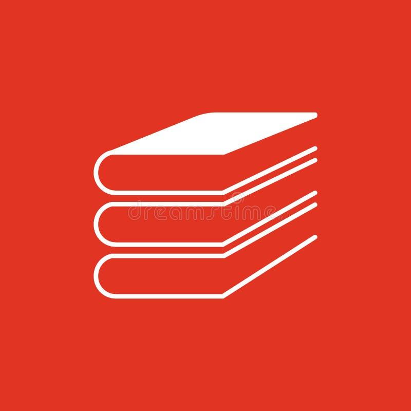 Dieses ist Datei des Formats EPS10 ENV 10 Bibliothek, Buchsymbol web graphik jpg ai app zeichen nachricht flach bild zeichen ENV  stock abbildung