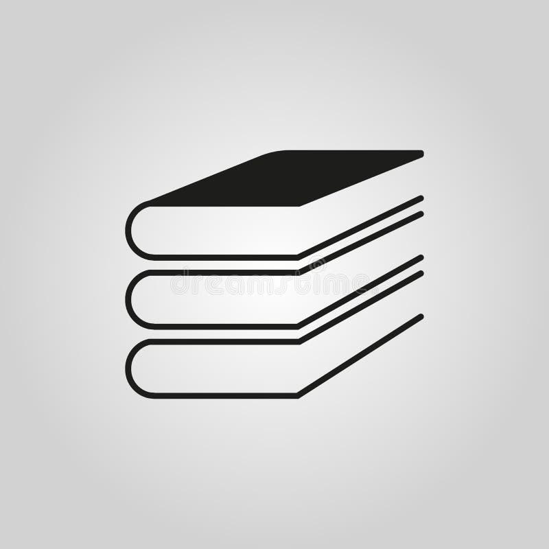 Dieses ist Datei des Formats EPS10 ENV 10 Bibliothekssymbol web graphik jpg ai app zeichen nachricht flach bild zeichen ENV Kunst stock abbildung