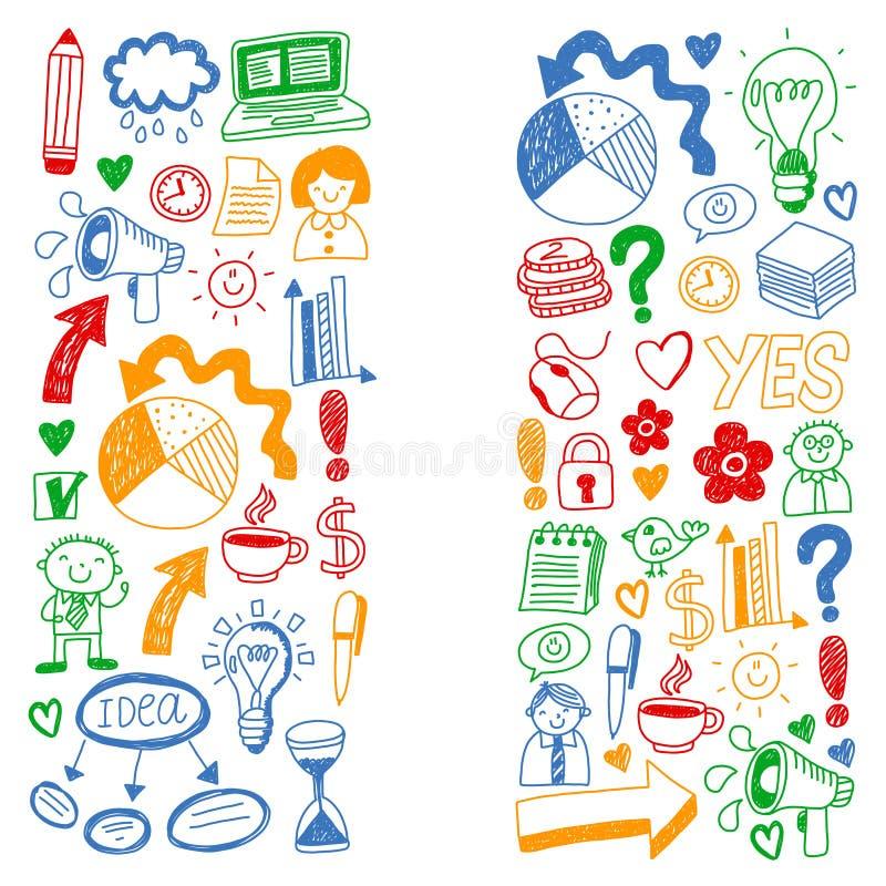 Dieses ist Datei des Formats EPS8 Social Media-Ikonen Setzen Sie Ihr Foto des Textes Internet, Leute, Idee, Teamwork lizenzfreie abbildung