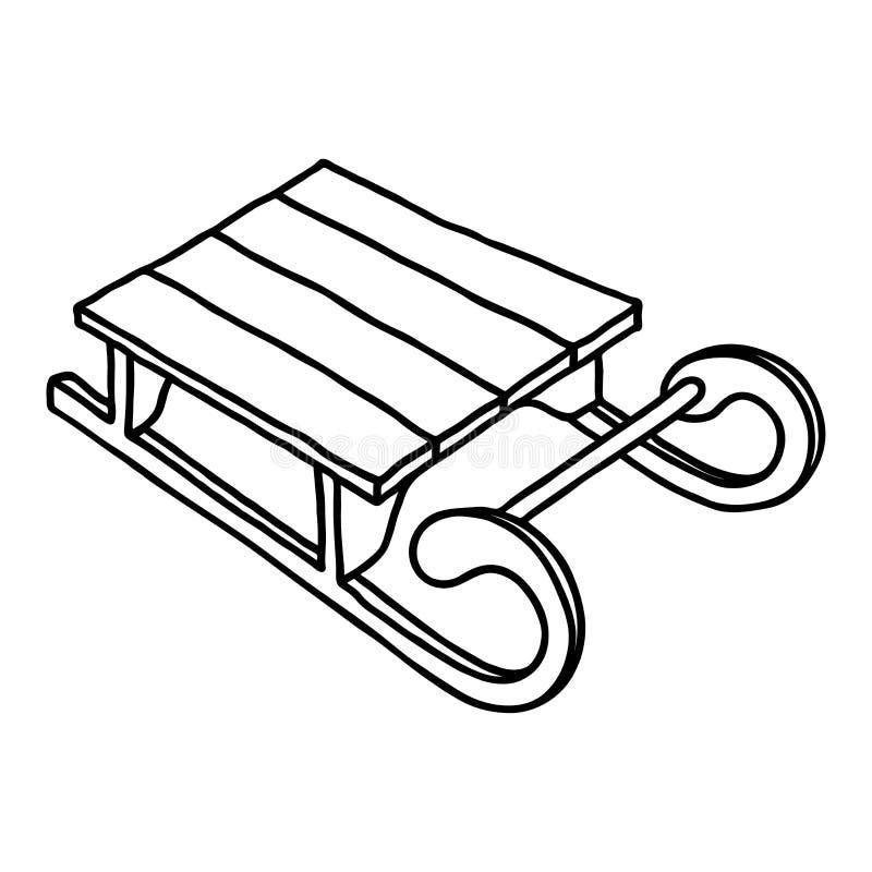 Dieses ist Datei des Formats EPS10 Von Hand gezeichnete Vektorillustration auf weißem Hintergrund stock abbildung