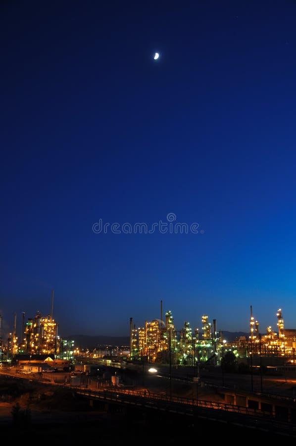 Denver-Erdölraffinerie stockbild