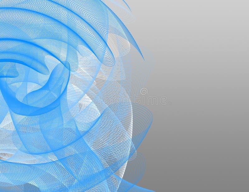 Dieses ist eine abstrakte Ansicht von gesponnene Linien lizenzfreies stockbild