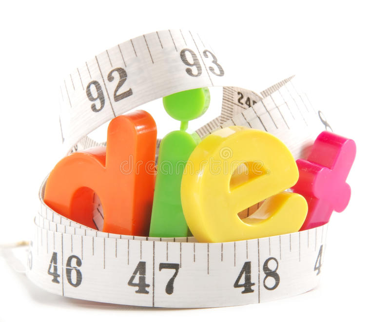Download Diet stock photo. Image of measure, white, tape, colorful - 12893508