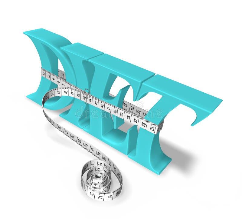 Diet stock illustration