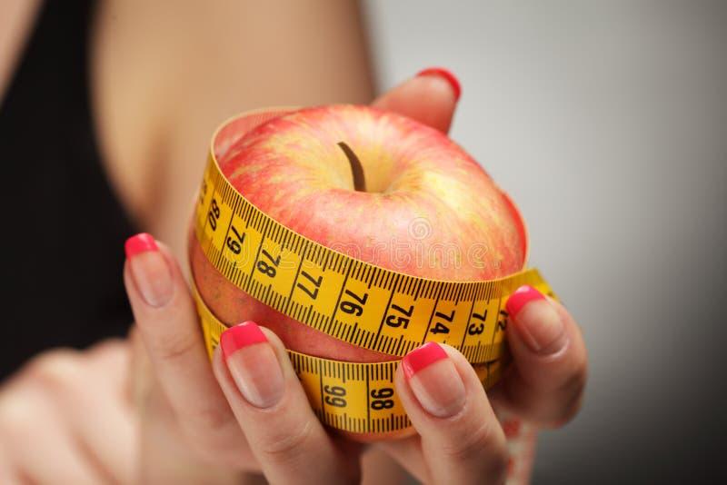 Download Diet apple stock photo. Image of color, measure, measurements - 19092798
