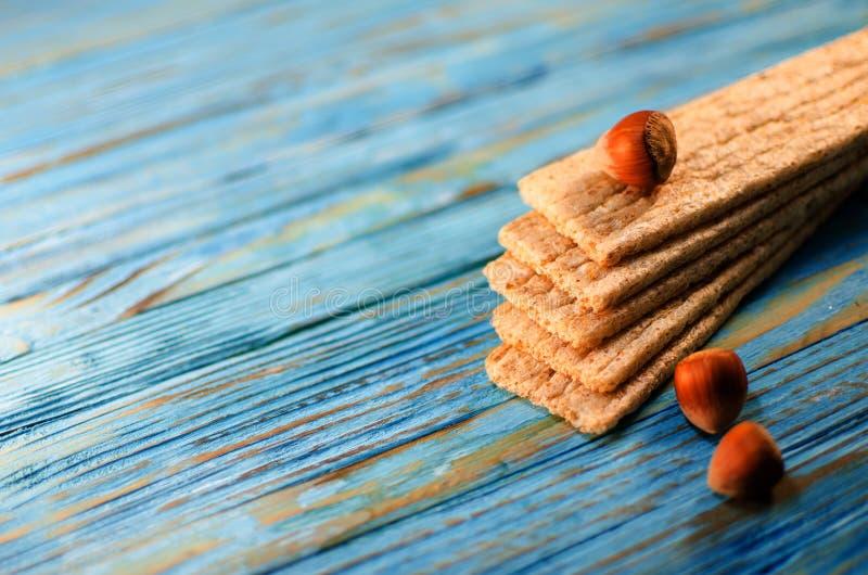 Diet-bröd som göras från sädesslag royaltyfria bilder