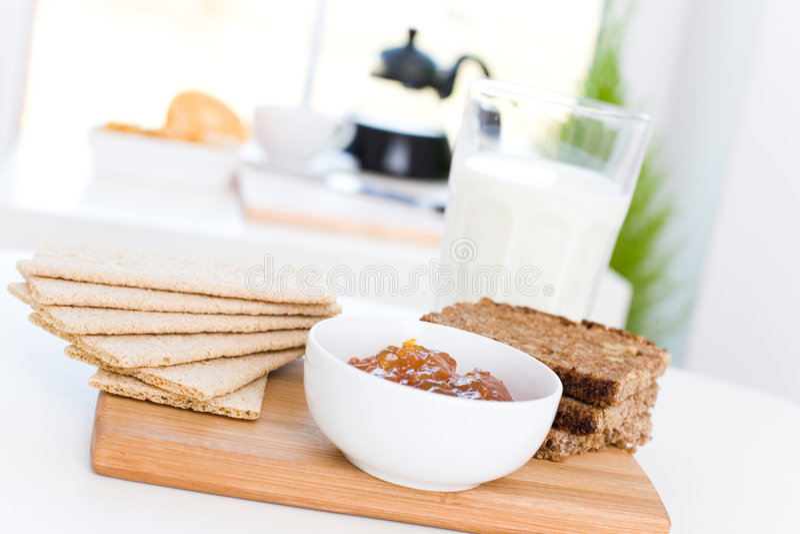 Diet breakfast royalty free stock photos