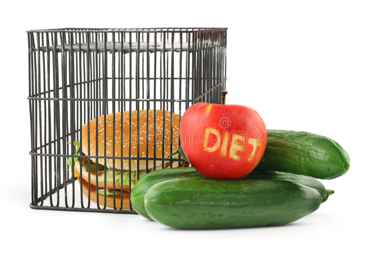 Diet concept #2 royalty free stock images
