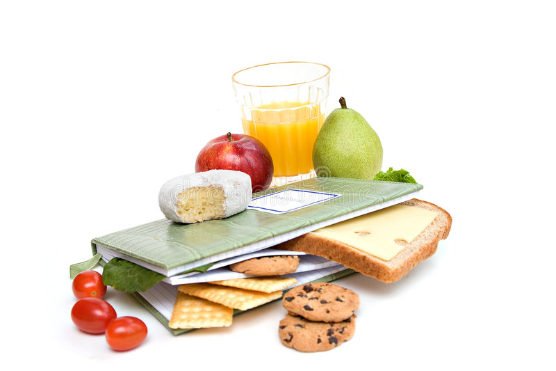 Diet Diary stock image