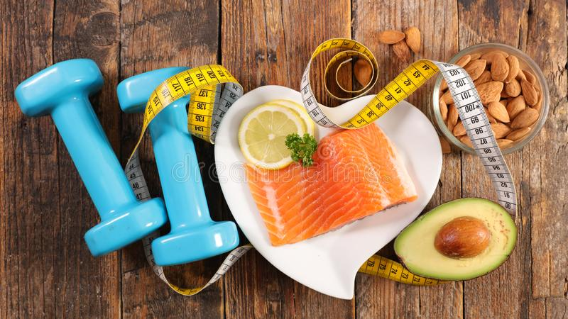 Diet food concept royalty free stock images