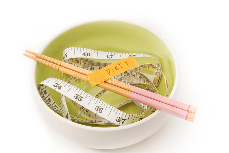 Diet food concept. Diet messages. stock photography