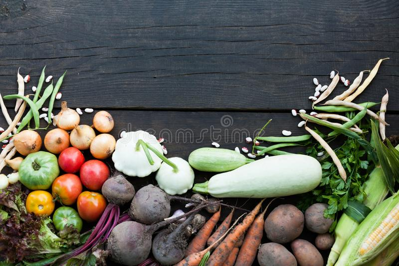 Diet food nutrition, vegetarian ingredients concept. Low calorie food royalty free stock photography