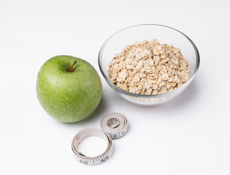 Diet. Fresh apple diets stock images