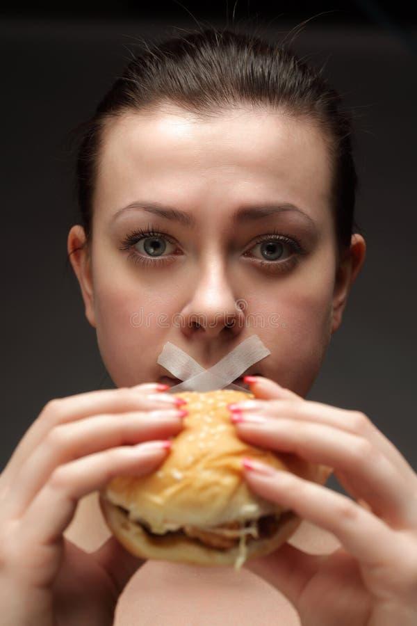 Diet For Girl Stock Images