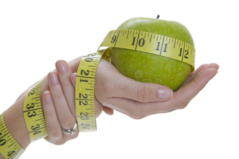 Diet Hand Concept royalty free stock images