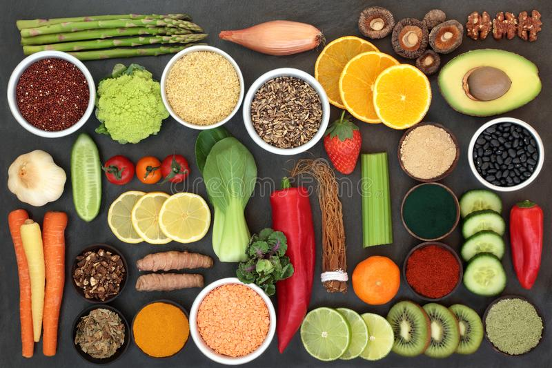 Diet Health Food for Liver Detox stock photo
