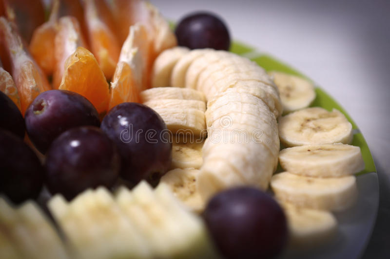 Diet. Healthy diet with various fruits stock images