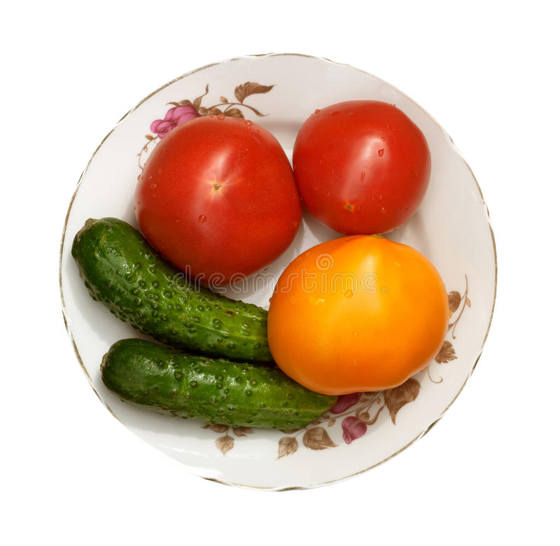 Diet isolated tomatoes royalty free stock photography