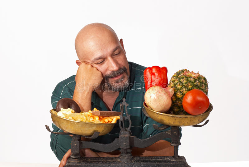 Diet motivation stock image