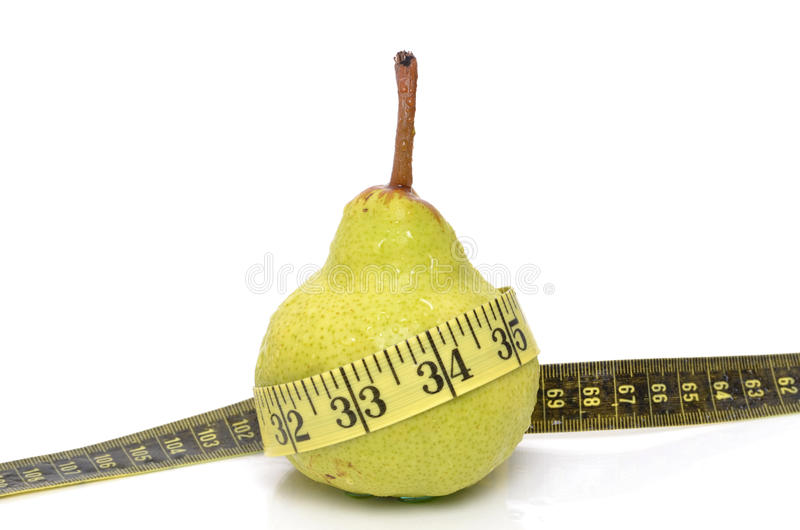 Download Diet Pear stock photo. Image of dieting, healthy, yellow - 19731192