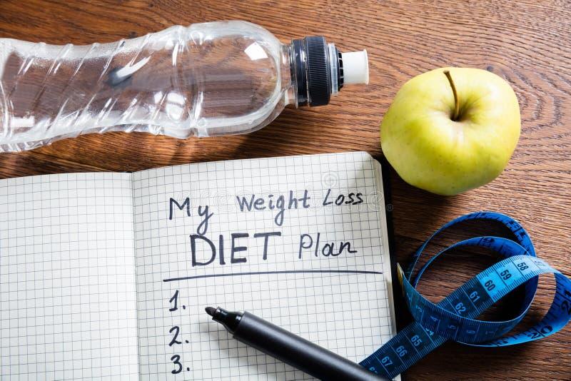 Diet Plan Concept stock photo