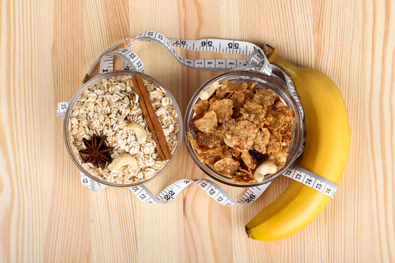 Diet products royalty free stock photography