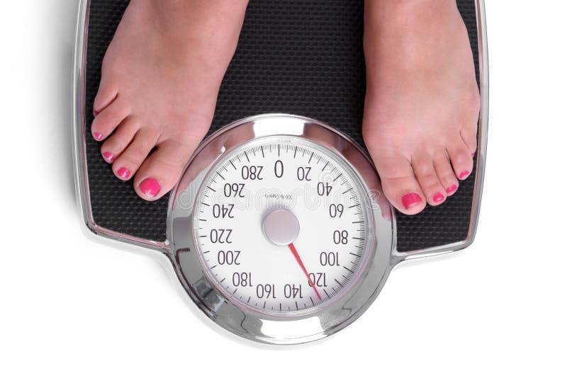 Diet Scale stock photo
