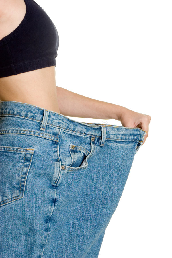 Diet Success stock images