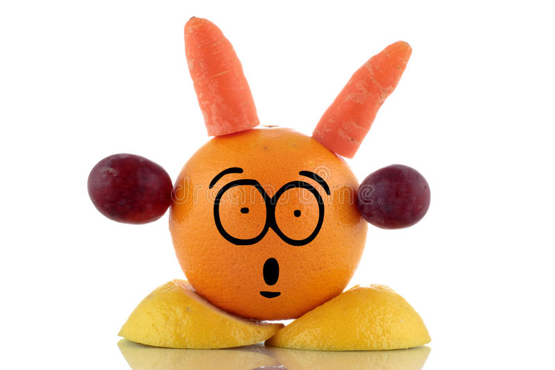 Download Diet Time. Funny Fruit Character. Stock Photo - Image: 30337592