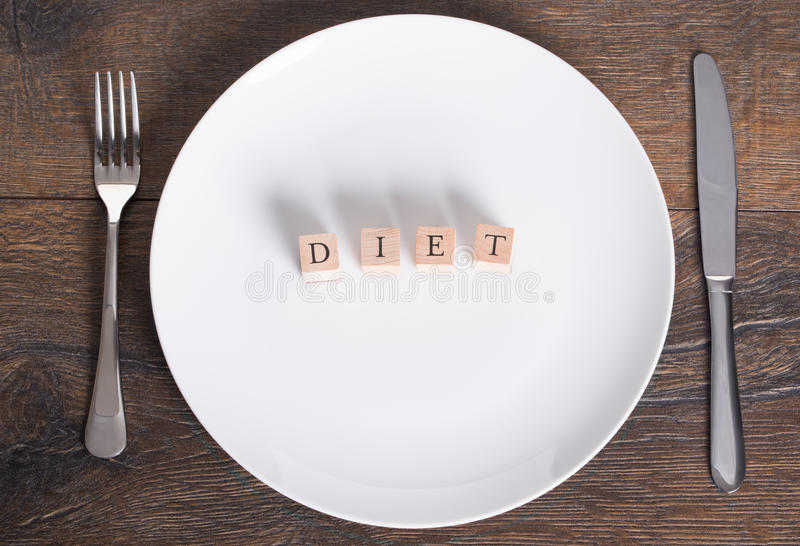 Diet and weight loss concept royalty free stock photography