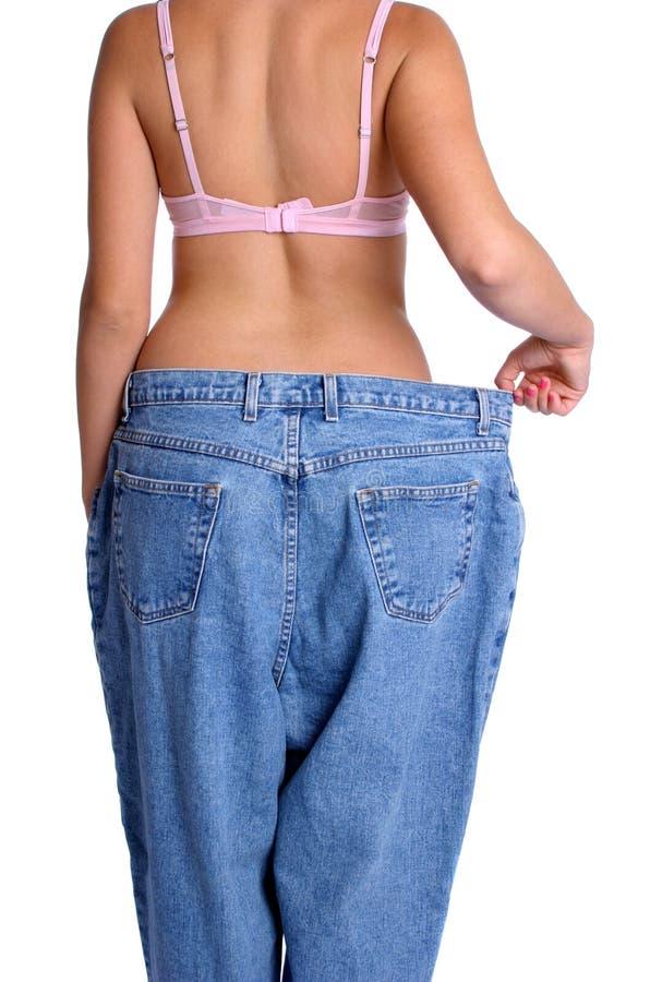 Diet Woman stock image