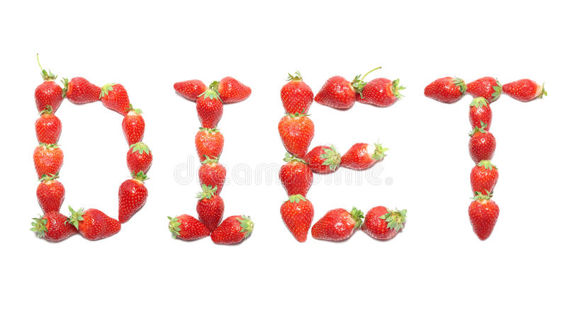 DIET word stock images