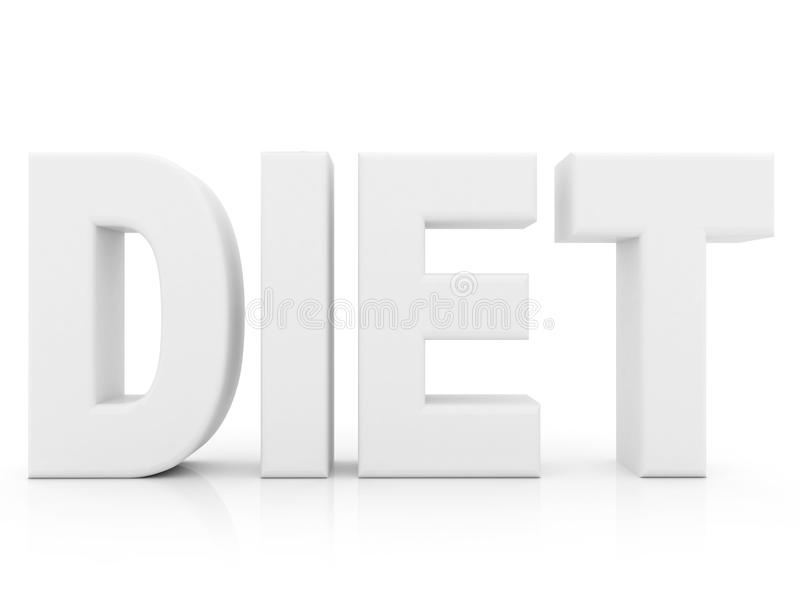 Download Diet word stock illustration. Image of food, isolated - 12531379