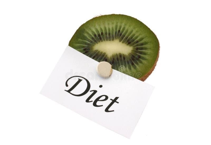 dieta 2 występować samodzielnie fotografia stock