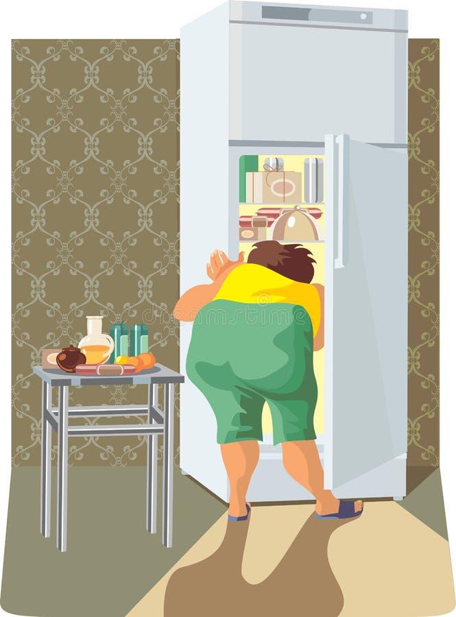 Dieta ilustração stock